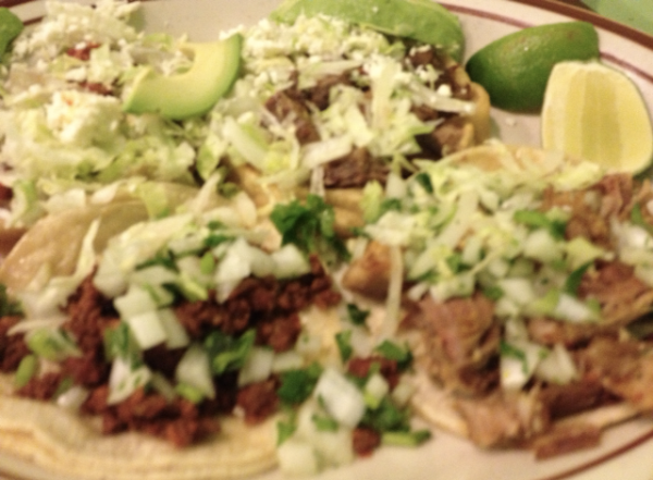 Bryan's sopes and tacos